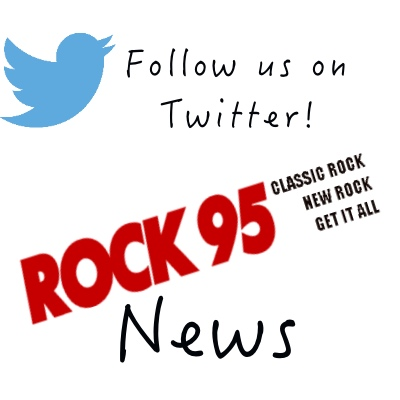 Follow Us on Twitter ROCK 95 NEWS