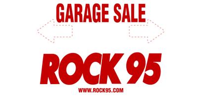 Garage Sales Rock 95