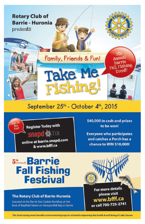 Barrie Fall Fishing Festival