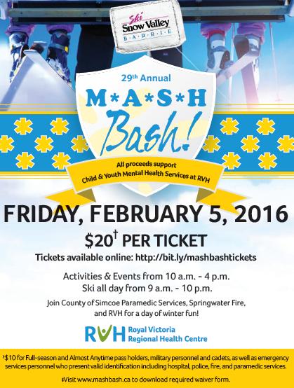Mash Bash 2016 UPDATED