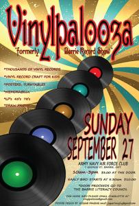VinylPalooza Poster