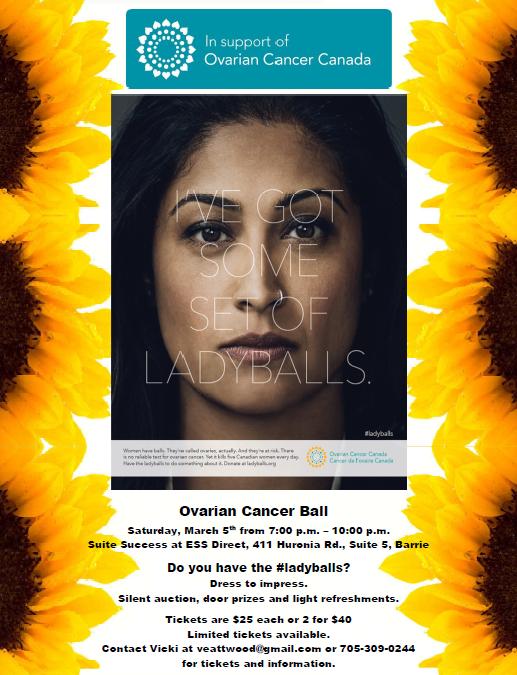 Ovarian Cancer Ball 2016