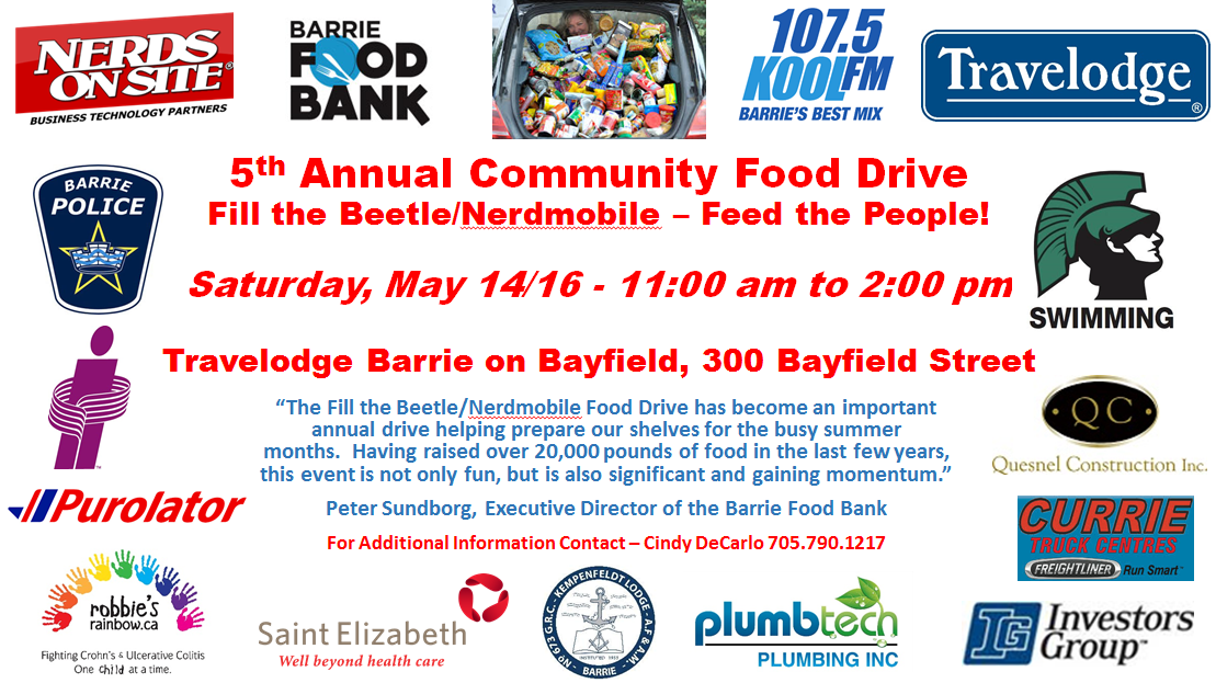 5th Annual Community Food Drive Picture