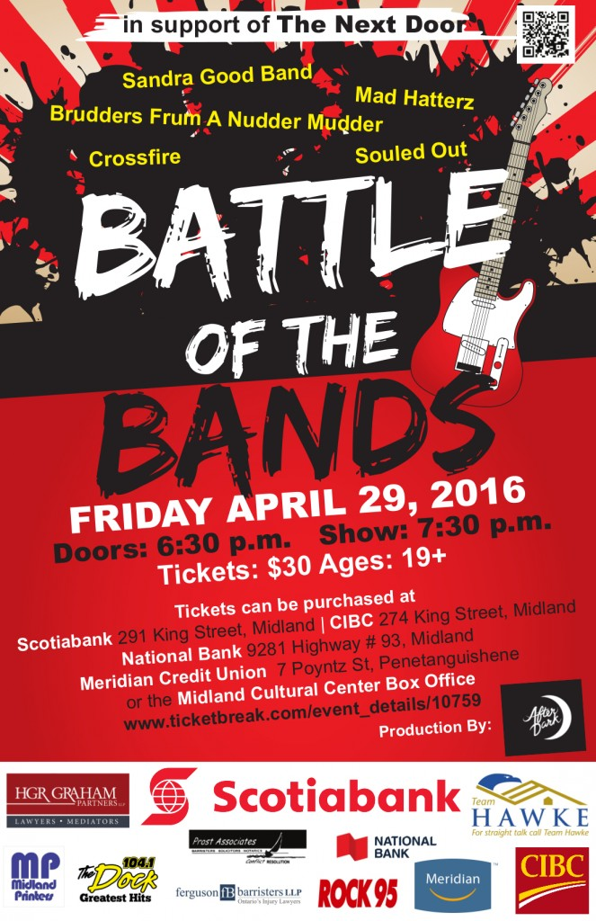 Battle of the bands Poster The next Door