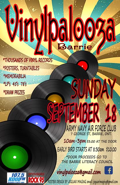 Vinylpalooza Poster September 18 2016
