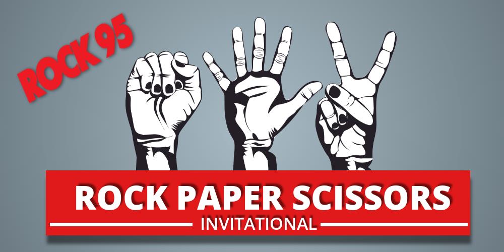 Image result for rock 95 rock paper scissors georgian downs